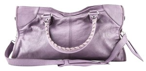 Balenciaga Town Satchel in PURPLE