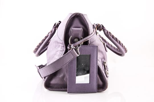 Balenciaga Town Satchel in PURPLE Image 1