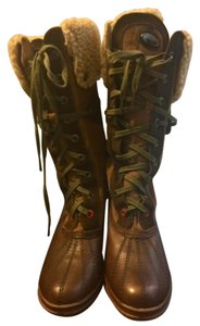 Pajar Winter Leather Brown Boots