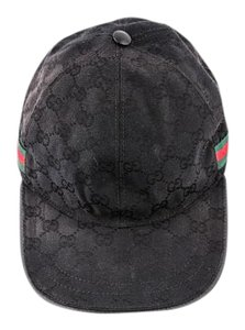 Gucci * Gucci Original GG canvas baseball hat with Web
