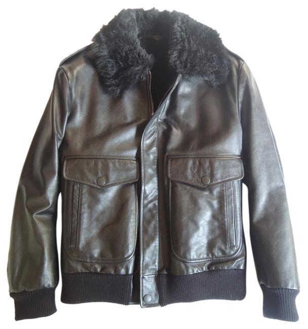 Preload https://item3.tradesy.com/images/gucci-black-leather-shearling-leather-jacket-1979182-0-0.jpg?width=400&height=650