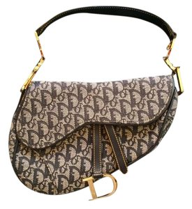 Dior Vintage Saddle Shoulder Bag