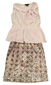 Etcetera Etcetera Pink Shirt and Skirt Set, Size 0