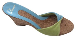 Delman Colorblock Wedges