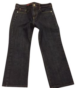 AG Adriano Goldschmied Catwalk Cropped Straight Leg Jeans