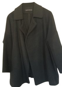 Zara Oversized Luxury Wool Short Pea Coat