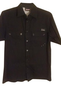Dickies Men's Dickies Button-Up Collared Shirt
