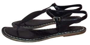 Bernardo Black Sandals