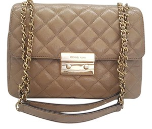 Michael Kors Rare Quilted Chain Shoulder Bag