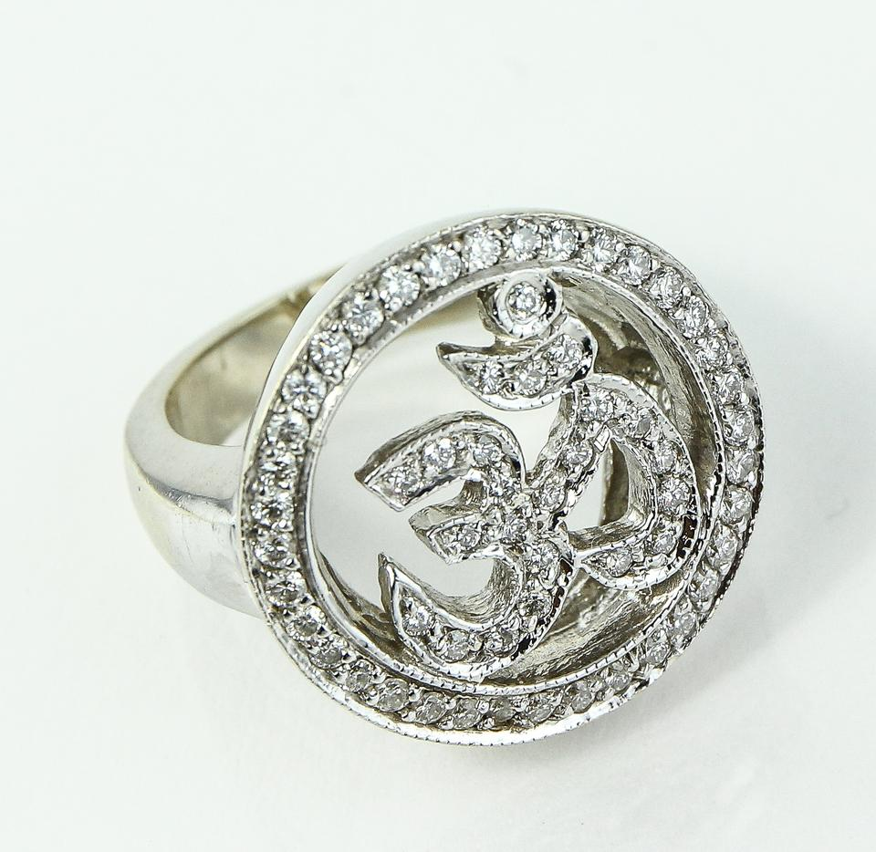 White Gold * Indian Letter Ring - Tradesy