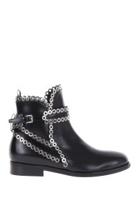 ALAÏA Alaia Chelsea Leather Black Boots