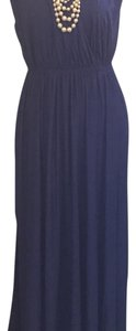 Blue Maxi Dress by Banana Republic
