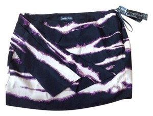 Rampage Mini Skirt black purple