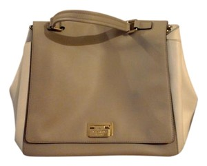 Kate Spade Tote in nude and white