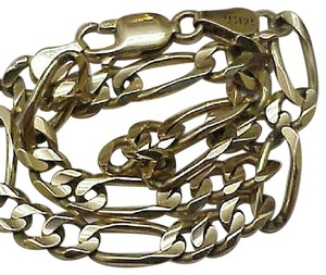 Other 14k Solid yellow Gold Figaro Bracelet -Unisex