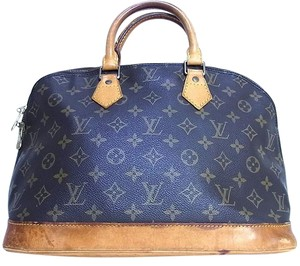 Louis Vuitton Vintage Neverfull Satchel in Alma Pm Monogram