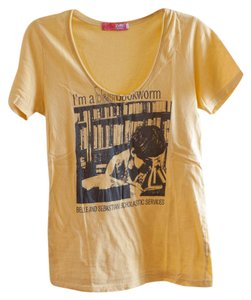 Lux T Shirt Yellow