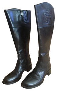 Etienne Aigner Leather Genuine black Boots