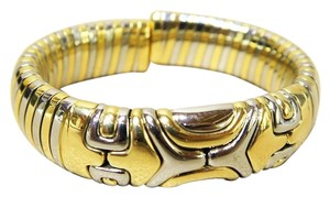 BVLGARI Bvlgari 18K Yellow Gold&Stainless Steel Two-tone Alveare Bracelet