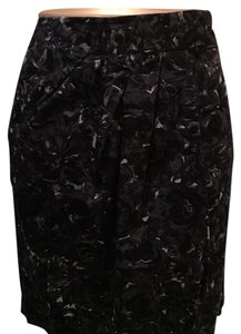 Ann Taylor LOFT Skirt Gray Multi