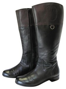 Ros Hommerson Size 9.00 Wide Leather Very Good Condition Black, Brown, Boots