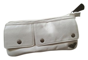 Roxy White Clutch