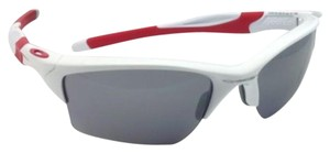 Oakley OAKLEY Sunglasses HALF JACKET 2.0 XL OO9154-23 White & Red w/ Mirror