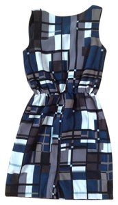 Banana Republic Geometric Print Elastic Dress