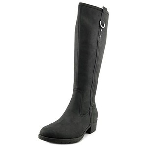 Hush Puppies Knee High Leather Thinsulate Black Boots