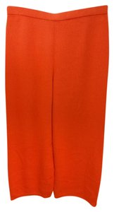St. John Orange Knit Pants