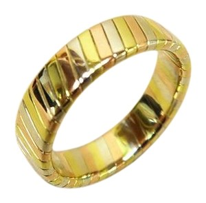 BVLGARI Bvlgari Tri-Color 18K yellow&white&rose gold Tubogas Ring