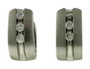 Other 18k White Gold 1/3 CT Diamond earrings