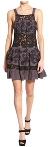 For Love & Lemons short dress Black Lace Embroidered Embellished on Tradesy