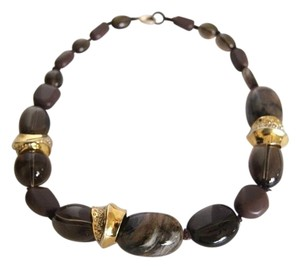 Alexis Bittar Alexis Bittar Elements Knotted Smoky Quartz Necklace