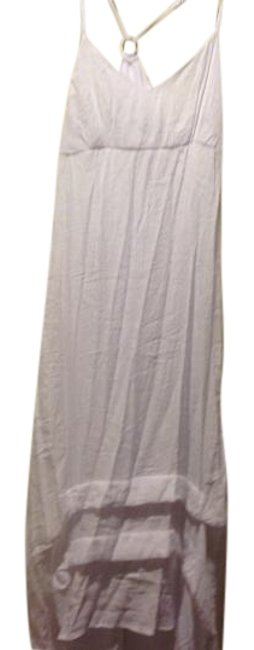 Item - White Brand New With. Tags. Gauze Fabric and Empire Waist Mid-length Short Casual Dress Size 14 (L)