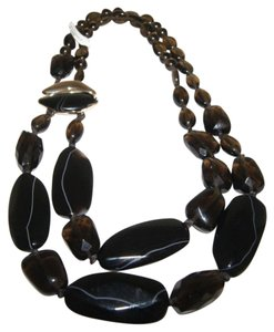 Alexis Bittar Alexis Bittar Two Strand Multi Share Stone Necklace