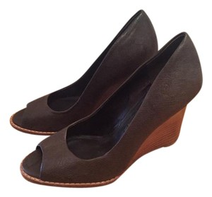 Banana Republic Wooden Brown Wedges