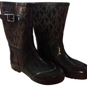 Michael Kors Vintage Brown and black Boots