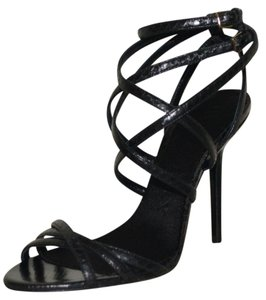 Burberry Prorsum Black Sandals