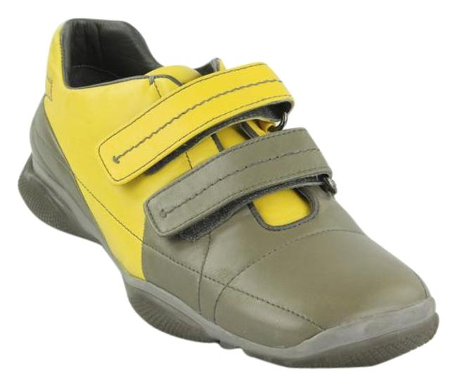 Item - Hunter Green /Yellow Sneakers Size EU 39.5 (Approx. US 9.5) Regular (M, B)