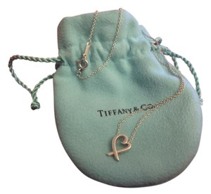 Tiffany & Co. Paloma Picasso Loving Heart Pendant in Sterling Silver