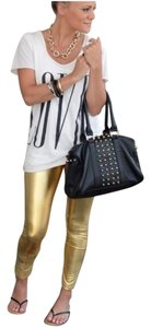 Fashion Envy Gold Leggings