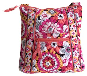 Vera Bradley Hipster Cotton Adjustable Travel Cross Body Bag