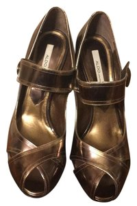 ALDO Bronze Pumps