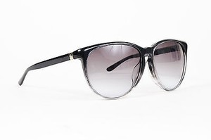 Saint Laurent Yves Saint Laurent Black Gray Ombre Oval Frame Ysl 2336 F S Sunglasses