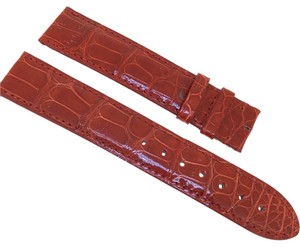 Cartier Red Alligator Leather