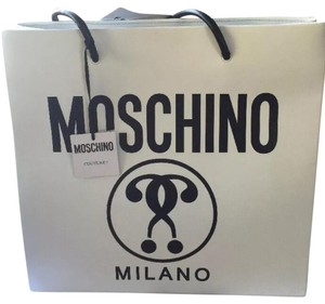 Moschino Tote in White