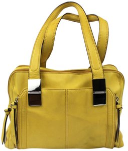 B. Makowsky Satchel in Yellow