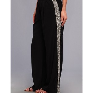 Sanctuary Clothing Palazzo Flowy Flared Relaxed Pants Black