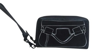 Foley + Corinna Wristlet in Black and White